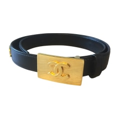 Skinny Belt CHANEL Black