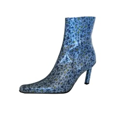 High Heel Ankle Boots FREE LANCE Blue, navy, turquoise