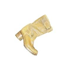 Stivali con tacchi FREE LANCE Beige, cammello