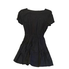 Mini-Kleid DES PETITS HAUTS Blau, marineblau, türkisblau