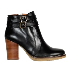 High Heel Ankle Boots SESSUN Black