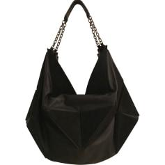 Leather Handbag JEAN PAUL GAULTIER Black