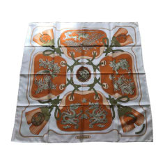 Silk Scarf HERMÈS Carré Orange