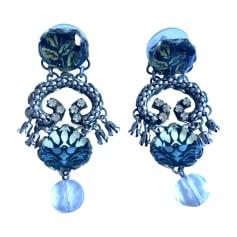 Boucles d'oreilles AYALA BAR Bleu, bleu marine, bleu turquoise
