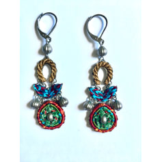 Boucles d'oreille AYALA BAR Oro turchese rosso