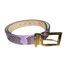 Wide Belt DOLCE & GABBANA Purple, mauve, lavender