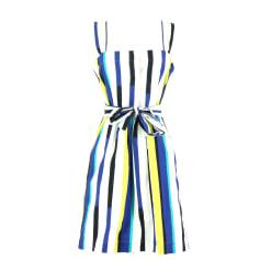 Midi-Kleid COMPTOIR DES COTONNIERS Mehrfarbig