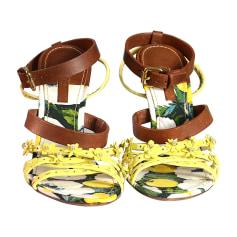 Heeled Sandals LOUIS VUITTON Multicolor