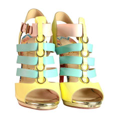 Heeled Sandals CHRISTIAN LOUBOUTIN Multicolor