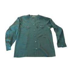Blouse YVES SAINT LAURENT Blue, navy, turquoise
