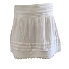 Mini Skirt COMPTOIR DES COTONNIERS White, off-white, ecru