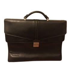 Briefcase, folder TEXIER Black