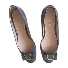 Ballerines BALLY gris taupe