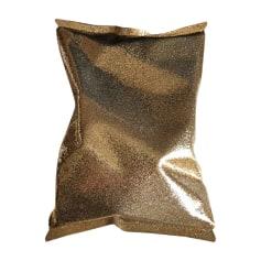 Pochette ANYA HINDMARCH Doré, bronze, cuivre