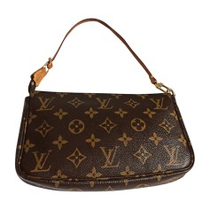 Non-Leather Handbag LOUIS VUITTON Brown