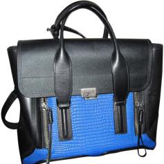 Sac à main en cuir 3.1 PHILLIP LIM Pashli Bleu, bleu marine, bleu turquoise