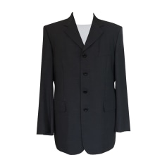 Jacket YVES SAINT LAURENT Blue, navy, turquoise