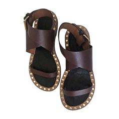 Sandales plates  ISABEL MARANT Rouge, bordeaux
