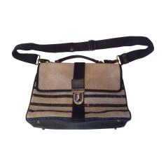 Non-Leather Shoulder Bag JEAN PAUL GAULTIER Beige, camel