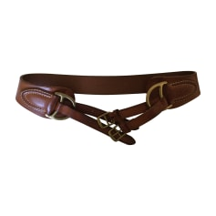 Wide Belt RALPH LAUREN Beige, camel