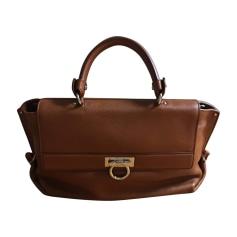 Leather Handbag SALVATORE FERRAGAMO Beige, camel