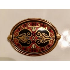 Anstecknadel FREY WILLE Gold, Bronze, Kupfer
