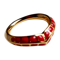 Ring AURELIE BIDERMANN Red, burgundy