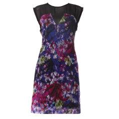 Mini-Kleid SANDRO Mehrfarbig