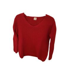Sweater DES PETITS HAUTS Red, burgundy