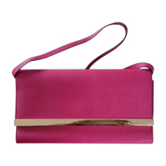 Leather Clutch MICHAEL KORS Pink, fuchsia, light pink