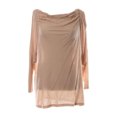 Top, t-shirt VANESSA BRUNO Beige, cammello