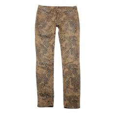 Straight-Cut Jeans  IRO Khaki