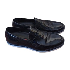 Loafers PRADA Blue, navy, turquoise