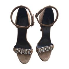 Heeled Sandals BALENCIAGA Beige, camel