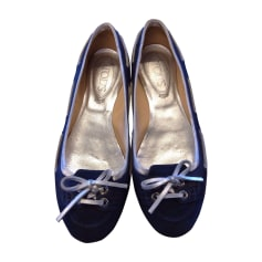 Ballerines TOD'S Bleu, bleu marine, bleu turquoise