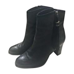 Bottines & low boots à talons RALPH LAUREN Noir