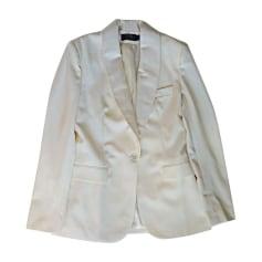 Blazer, Kostümjacken RALPH LAUREN Weiß, elfenbeinfarben