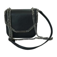 Leather Shoulder Bag STELLA MCCARTNEY Falabella Black