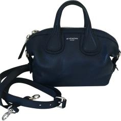 Lederhandtasche GIVENCHY Nightingale Blau, marineblau, türkisblau