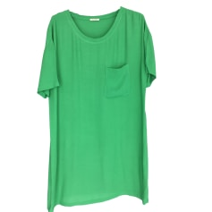 Robe mi-longue AMERICAN VINTAGE Vert