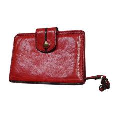 Porte documents, serviette CHLOÉ Rouge, bordeaux