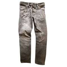 Jean slim DSQUARED2 Gris, anthracite