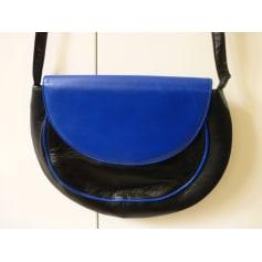 Sac en bandoulière en cuir CHARLES JOURDAN Bleu, bleu marine, bleu turquoise