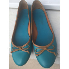 Ballet Flats GEORGES RECH Blue, navy, turquoise