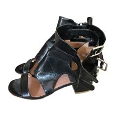 Sandales à talons LAURENCE DACADE Noir