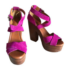 Wedges RALPH LAUREN Pink, fuchsia, light pink