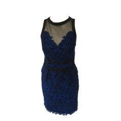 Midi-Kleid KAREN MILLEN Blau, marineblau, türkisblau
