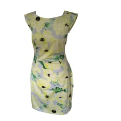 Midi-Kleid FRENCH CONNECTION Gelb