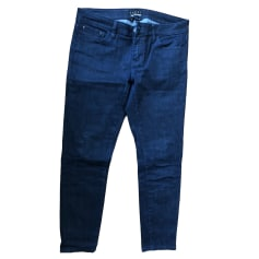 Jeans droit THE KOOPLES Bleu, bleu marine, bleu turquoise