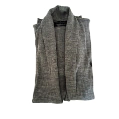 Vest, Cardigan ALL SAINTS Gray, charcoal